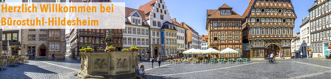 Bürostuhl-Hildesheim - zu unseren Bürostühlen